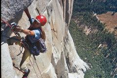 Rock Climbing Photo: Cleaning on Salathe, photo by Steph Davis