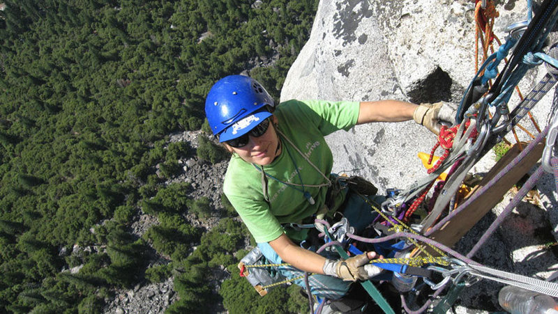 Last belay on ...um...not sure which little big wall...