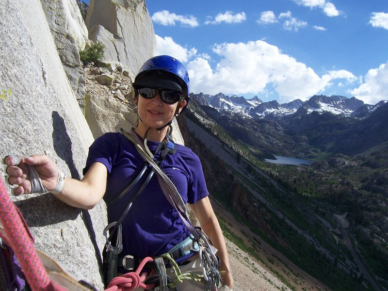 Rock Climbing Photo: What a great view from Cardinal Pinnacle near Bish...
