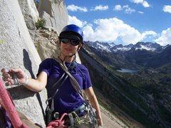 Rock Climbing Photo: What a great view from Cardinal Pinnacle near Bish...