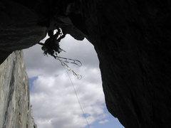 Rock Climbing Photo: Roof Pitch NA Wall