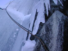 Rock Climbing Photo: The zen of the belay