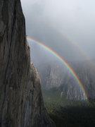 Rock Climbing Photo: From El Cap