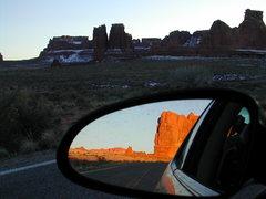 Rock Climbing Photo: Arches Natl Park