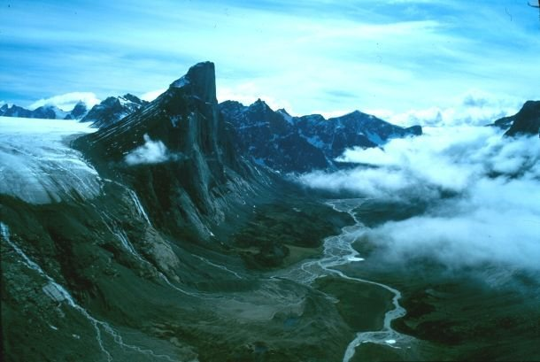 Rock Climbing Photo: Mt Thor (Thor Peak)