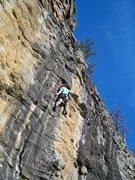 Rock Climbing Photo: Sybarite 5.9