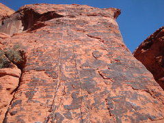 Rock Climbing Photo: A look of the routes September Daze and November N...
