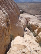 Rock Climbing Photo: Looking east towards the base of Mans Best Friend....