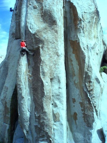 Rock Climbing Photo: Crack of Doom
