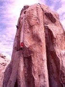 Rock Climbing Photo: Crack of Doom .11c