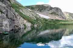Rock Climbing Photo: View of the lake