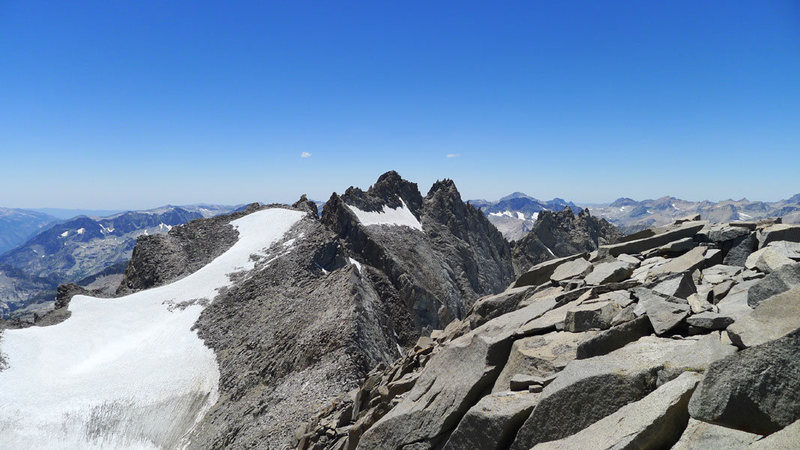 Pol from the summit of Sill