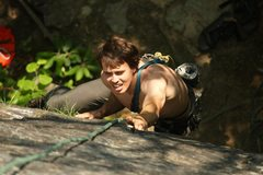 Rock Climbing Photo: New River Gorge, 5.10a, I forget the name of the c...