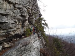 Rock Climbing Photo: The Trapps, Gunks
