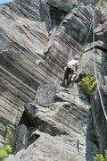Rock Climbing Photo: this shows where the Love Nest is... the corner ab...