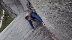 Rock Climbing Photo: Alex Honnold on Las Manos del Dia, 5.11+, Trinidad...