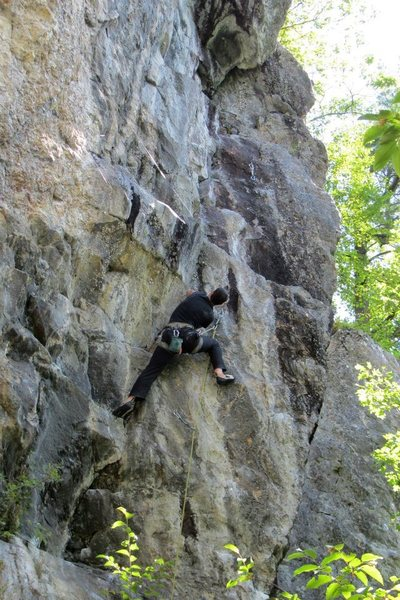 Rock Climbing Photo: Jakob styling...