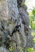 Rock Climbing Photo: Jakob styling...