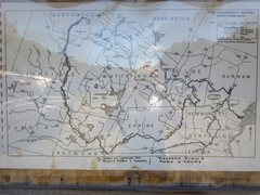 Photo of the map at the parking area.