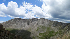 Rock Climbing Photo: cliffs above Summit Lake