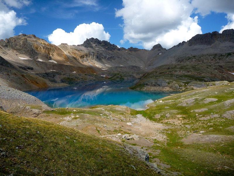 Rock Climbing Photo: Columbine Lake