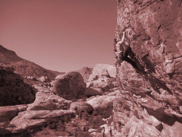 Rock Climbing Photo: Sunny and Steep