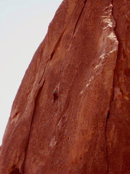 Rock Climbing Photo: Wheat Thin .7