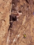 Rock Climbing Photo: can't remember the name of this sick route..think ...
