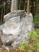 Rock Climbing Photo: Big Baby (right side)