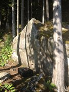 Rock Climbing Photo: Warm-Up boulder