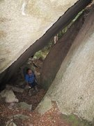 Rock Climbing Photo: This area has some interesting geology