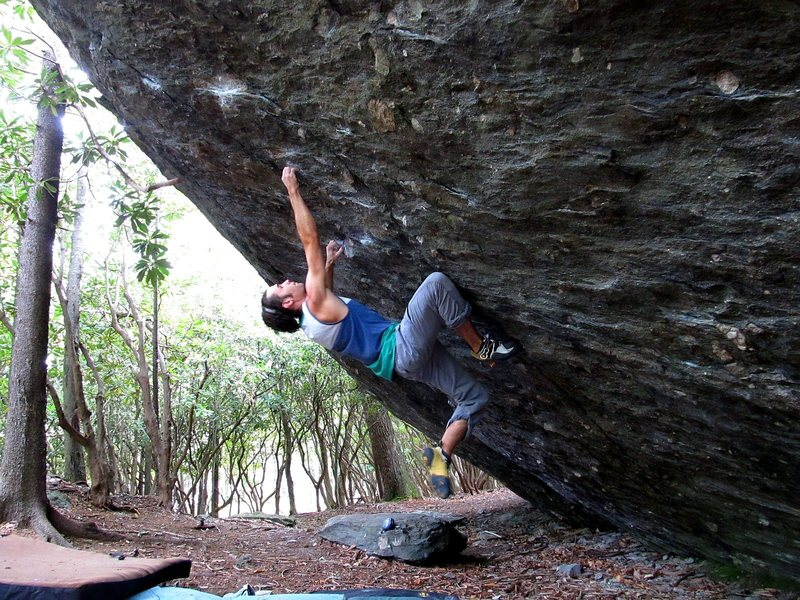 "Rock Climbing Photo: ""The Pastafarian"" FA"