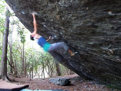 "Rock Climbing Photo: ""The Pastafarian"" (Start to FSM... Finis..."