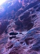 Rock Climbing Photo: Perfect climb for a summer day in Las Vegas!