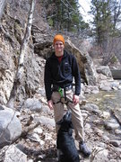Rock Climbing Photo: piney creek canyon