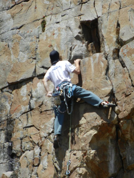 Rock Climbing Photo: bottom section