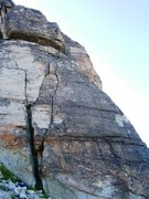 Rock Climbing Photo: One of many alternative intro pitches - the one we...