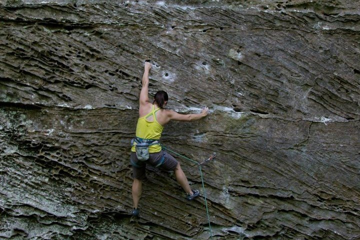 K.S.B. 10d, Red River Gorge, KY