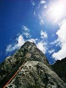 Rock Climbing Photo: Pitch six
