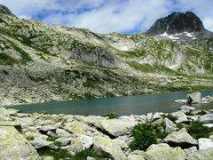 Rock Climbing Photo: Luterseeplatten crag