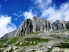 Rock Climbing Photo: South ridge of the Gross Schijen, as seen from nea...
