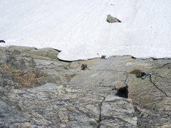 Rock Climbing Photo: Pitch one, 6a