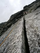Rock Climbing Photo: Pitch two, doesn't get much better!
