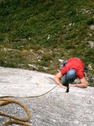 Rock Climbing Photo: Pitch two