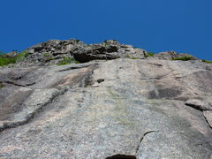 Rock Climbing Photo: Lower Slab