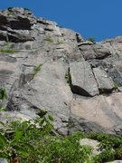 Rock Climbing Photo: Looking up the climb