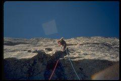 Rock Climbing Photo: First Ascent of Sartoris, WPB, Dave Blacck