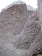 Rock Climbing Photo: West side of Monkey Lust boulder.