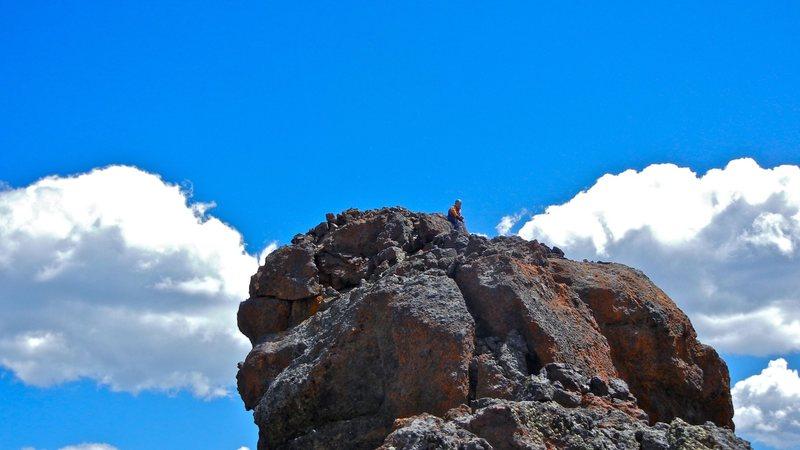 Summit of Pilot Peak