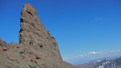 Rock Climbing Photo: Approaching the northwest corner and the start of ...